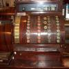 The cash register we still use in the store today. We think it's from the 1930s. It still works!