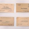 Some early business cards for Perri Jewelers.